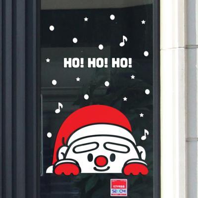 제제데코 크리스마스 눈꽃 스티커 장식 CMS4J130
