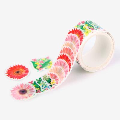 여신의 꽃배경 마스킹 테이프