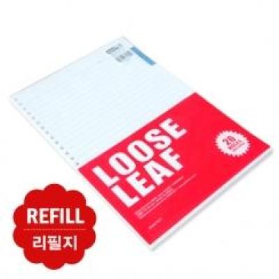 1000 26공투컬러화일노트(리필지)(L)