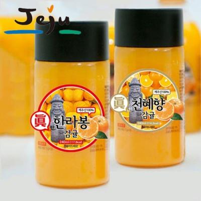 한라봉 감귤주스x7병+천혜향 감귤주스x7병