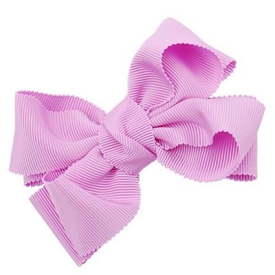 [헤어보우]Double ribbon 헤어핀-퍼플(HB110083-4)