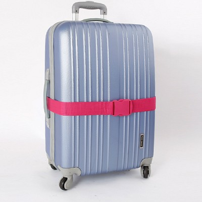 컬러 여행가방벨트 - 핑크