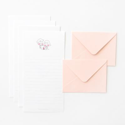 러블리 미니 편지지 세트 - Flower