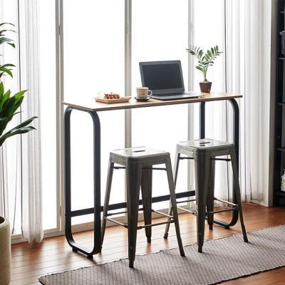 리브 800 높은 홈바테이블 카페 커피숍 노트북 책상