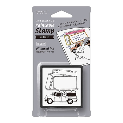 Paintable Stamp v.2 Daily Life - Going out