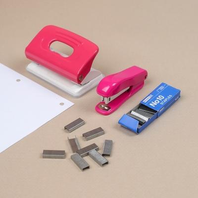 문구존 10호 스테이플러 3종세트(4mm)