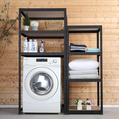 철제 조립식 세탁기 선반 800x400 높이2100 2단