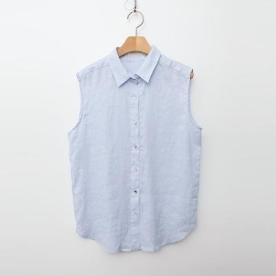 Mio Linen Shirts - 민소매