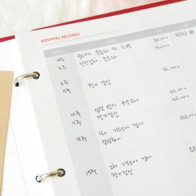 A5초음파앨범시간기록 Ver02 내지패키지