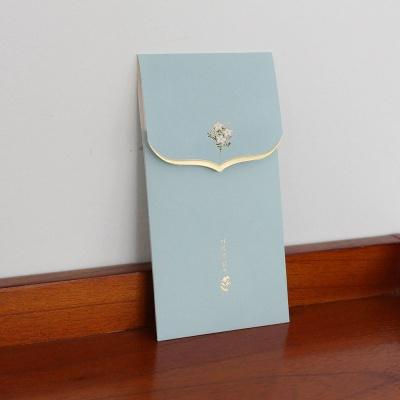 020-ME-0044 / 꽃단아 축하봉투 (블루)