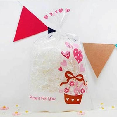 수제 초콜릿 선물 포장 투명 포장지 미니 폴리백