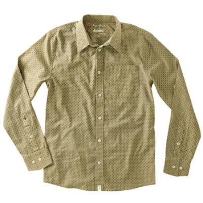 [Altamont] SELECTOR X A.REYNOLDS BUTTON-UP L/S SHIRTS (Khaki)