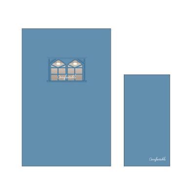 1000 편지지-윈도우(블루)