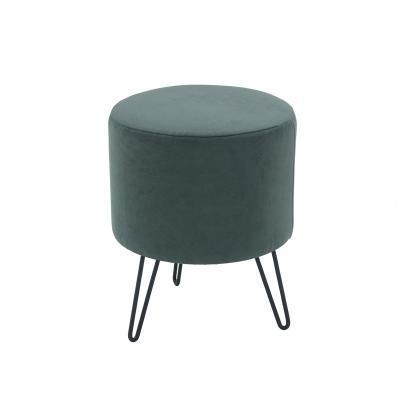 야키 철제 패브릭 스툴 의자