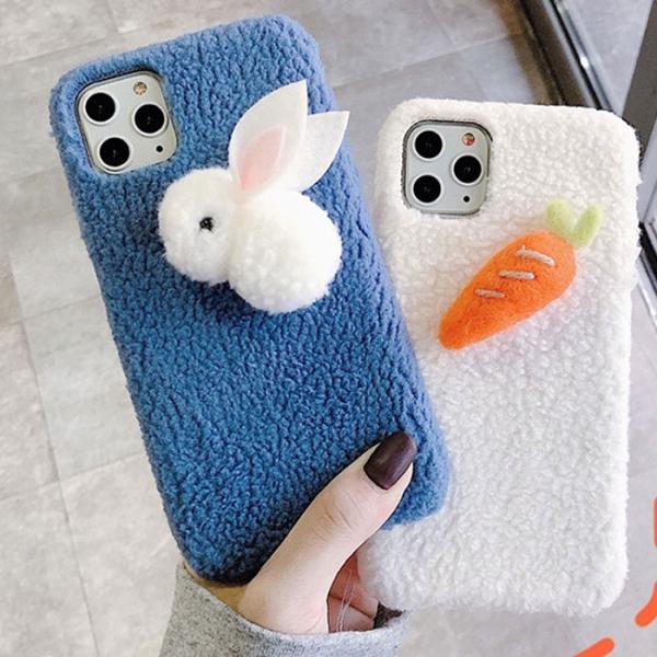 토끼인형 케이스(아이폰7플러스/8플러스)