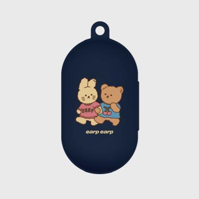 nini friends-navy(buds jelly case)