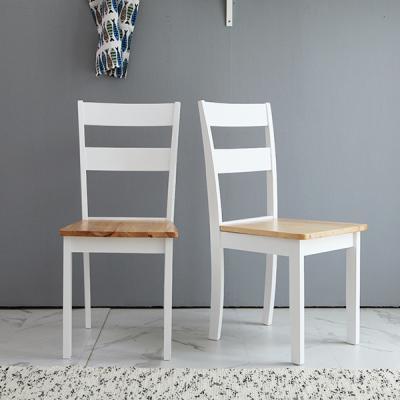 [리비니아][무료배송]크림 원목의자 1+1