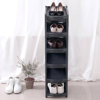 아도라하우스 지그재그 신발정리대 11단 블랙