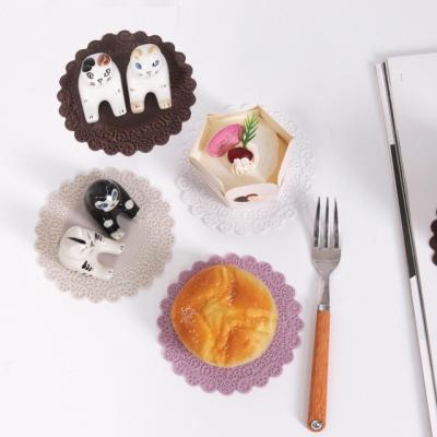 말랑말랑 실리콘 컵받침 코스터 (랜덤발송)