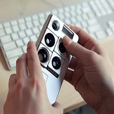 [Puzlook] 퍼즈룩 아이폰5/5S 카메라 렌즈가 장착된 케이스