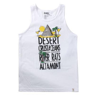 [Altamont] DESERT TANK TOP (White)