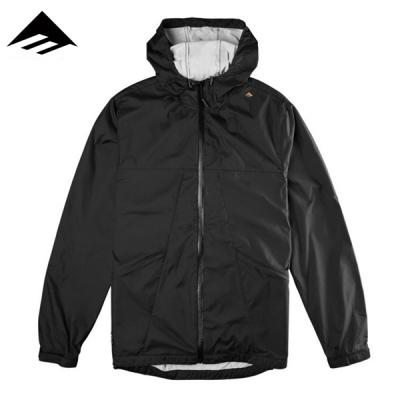 [EMERICA] SKANN JACKET (BLACK/BLACK)