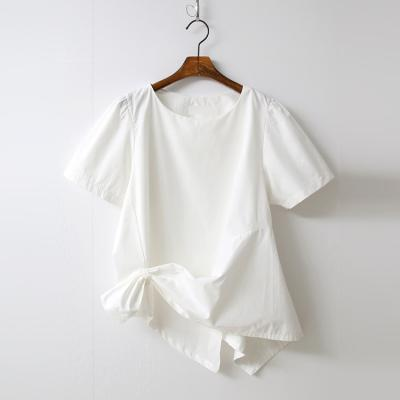 Ring Puff Shirring Blouse