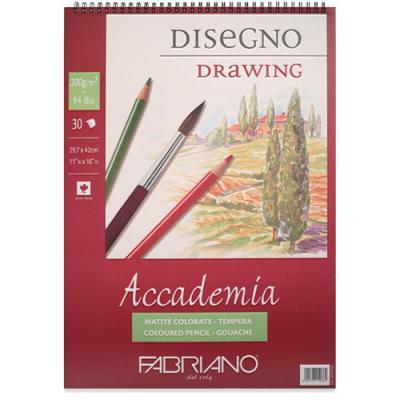 아카데미아 스케치북 AP05 [스프링형](A4)-120g