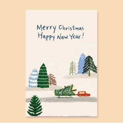 [크리스마스카드] MERRYCHRISTMAS& XD3032