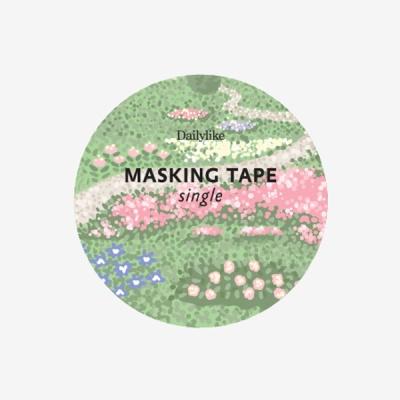 마스킹테이프 single - 148 Flower bed