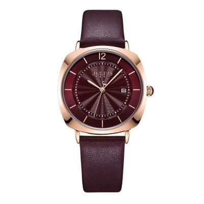 [쥴리어스공식] JA-1190L 여성시계 가죽시계 커플시계