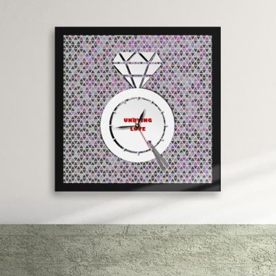 cw036-다이아_영원불멸의 사랑 액자벽시계_디자인액자시계