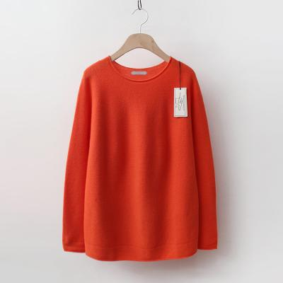 Laine Wool Roll Round Sweater