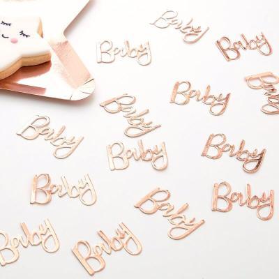 로즈골드 베이비 테이블 컨페티 Baby Confetti