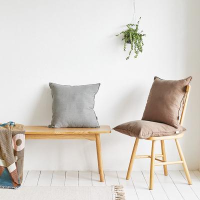 사각 의자 방석 린넨 패브릭 북유럽 카페 홈 인테리어