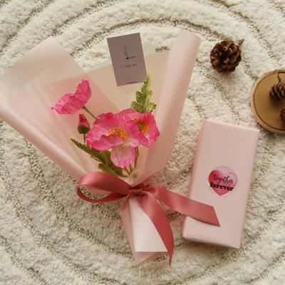 [빼빼로데이] 양귀비꽃다발선물세트 [2color]