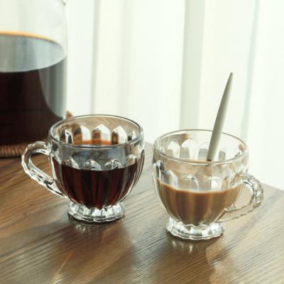 카페테리아 클리어 미니 커피잔 1개