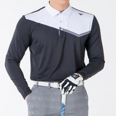 골프웨어 골프복 긴팔 티셔츠 남성 기능성 라운딩 DB4