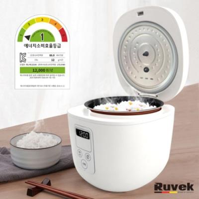 루베크 디지털 미니 전기 밥솥 RU-RC101W