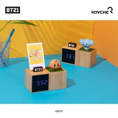 [로이체] BT21 베이비 LED 디지털 탁상시계
