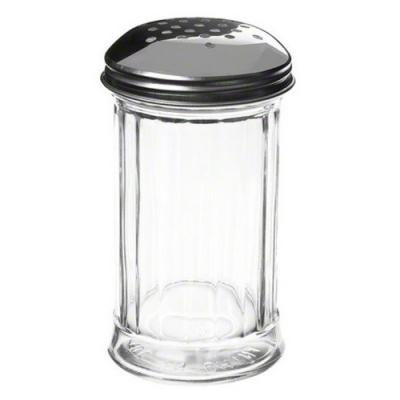 Plastic Fluted CHEESE Shaker 1P(12oz)