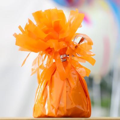 은박 풍선 무게추 (오렌지)
