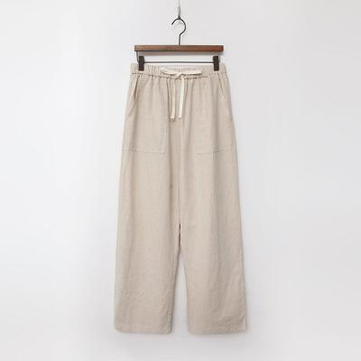 Linen Cotton Bio Wide Pants
