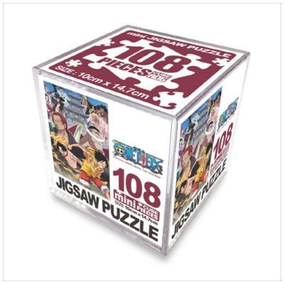 원피스 직소퍼즐 미니 Cube 108pcs: 드루와