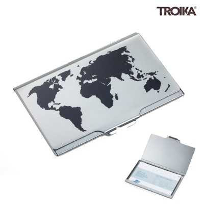 GLOBAL CONTACTS 명함케이스 티타늄 (CDC15-02BK/TI)