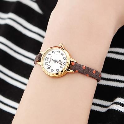 [쥴리어스공식] JA-1022 여성시계 가죽시계