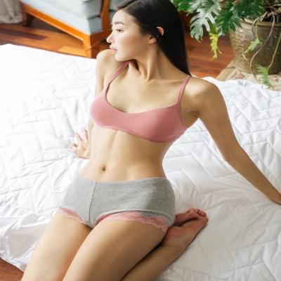 [울랄라파자마] 허그솔리드 라라렛+삼각팬티 SET (핑크)