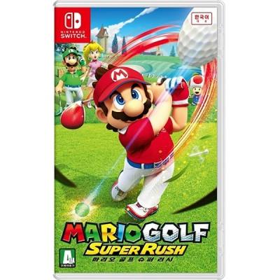 닌텐도 스위치 마리오 골프 슈퍼 러시 한글판