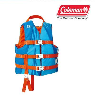 [콜맨] 아동 라이프자켓/구명조끼/콜맨공식수입/안전인증/안전한물놀이