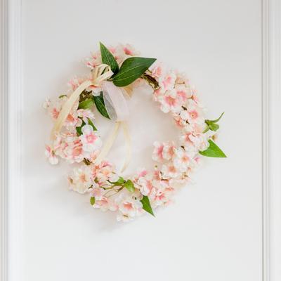 가장 아름다운 순간 벚꽃리스 [2color]